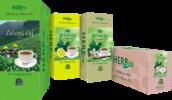 Zeleni čaji kartoni